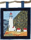 Heceta Head Lighthouse paper pieced quilt pattern from Sentries of Light - Select image to enlarge